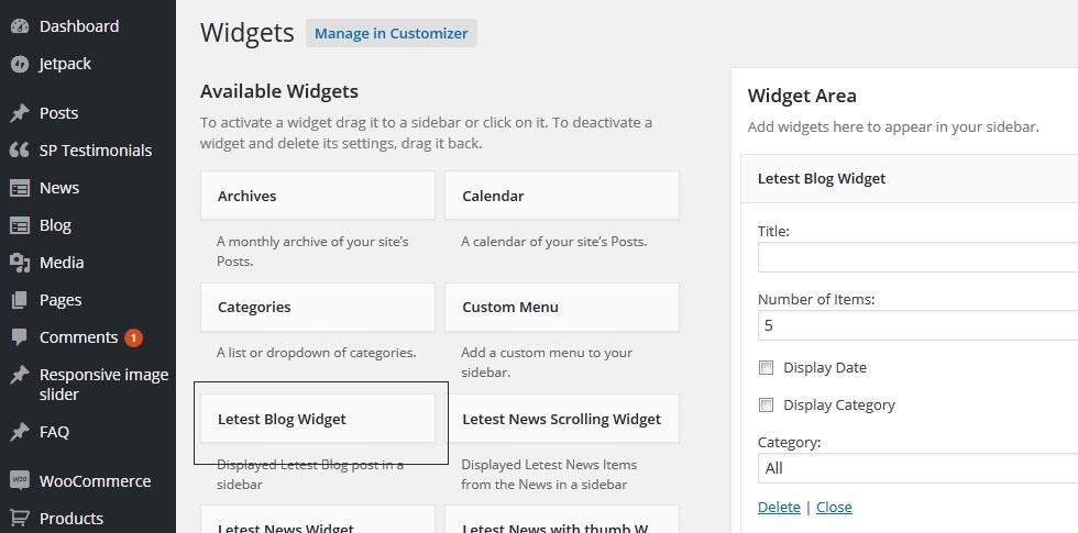 add-blog-widgets