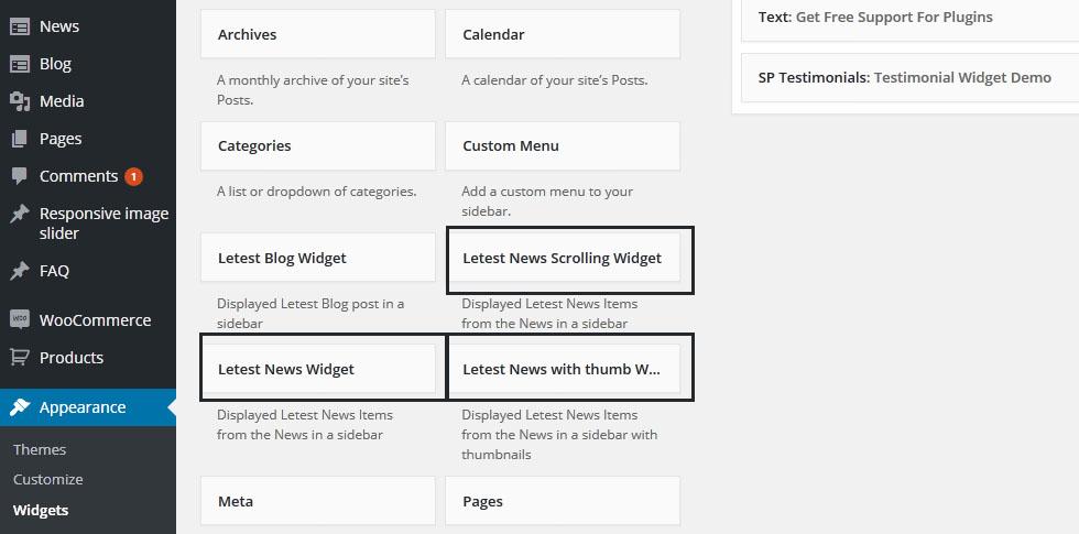 news-widgets