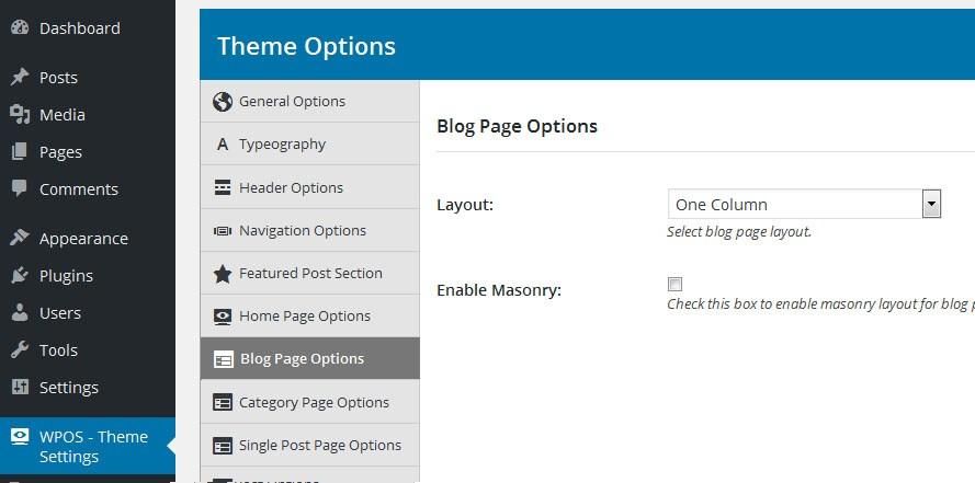 blog-page-setting