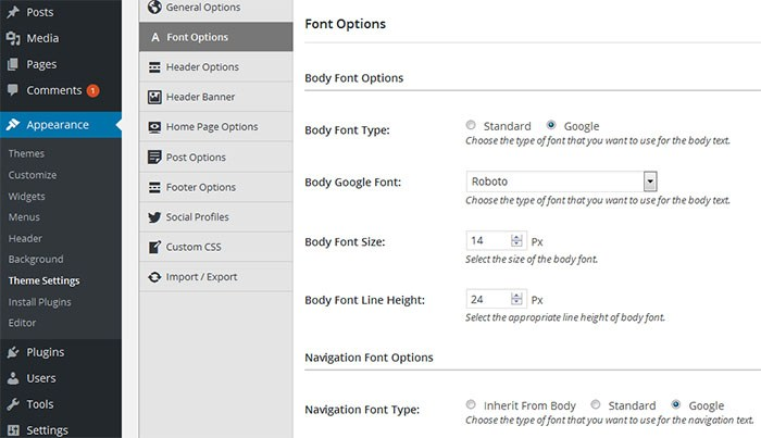 theme-fonts